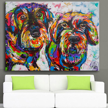 Wire Haired Dachshund Canvas Print