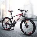 Горный велосипед 26 дюймов 21 24 27 30 Скорость двойной шок дисковый тормоз для мужчин и женщин студенческий мужской дорожный велосипед