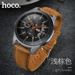 Image 1 - Ремешок из воловьей кожи для Samsung Galaxy Watch 42 мм/46 мм