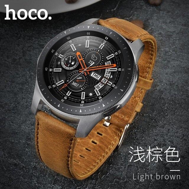 Ремешок из воловьей кожи для Samsung Galaxy Watch 42 мм/46 мм