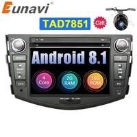Eunavi 7'' 2Din TDA7851 Android 8.1 Car DVD Radio Player multimedia GPS Navigation for Toyota rav 4 RAV4 Audio Stereo RDS Wifi