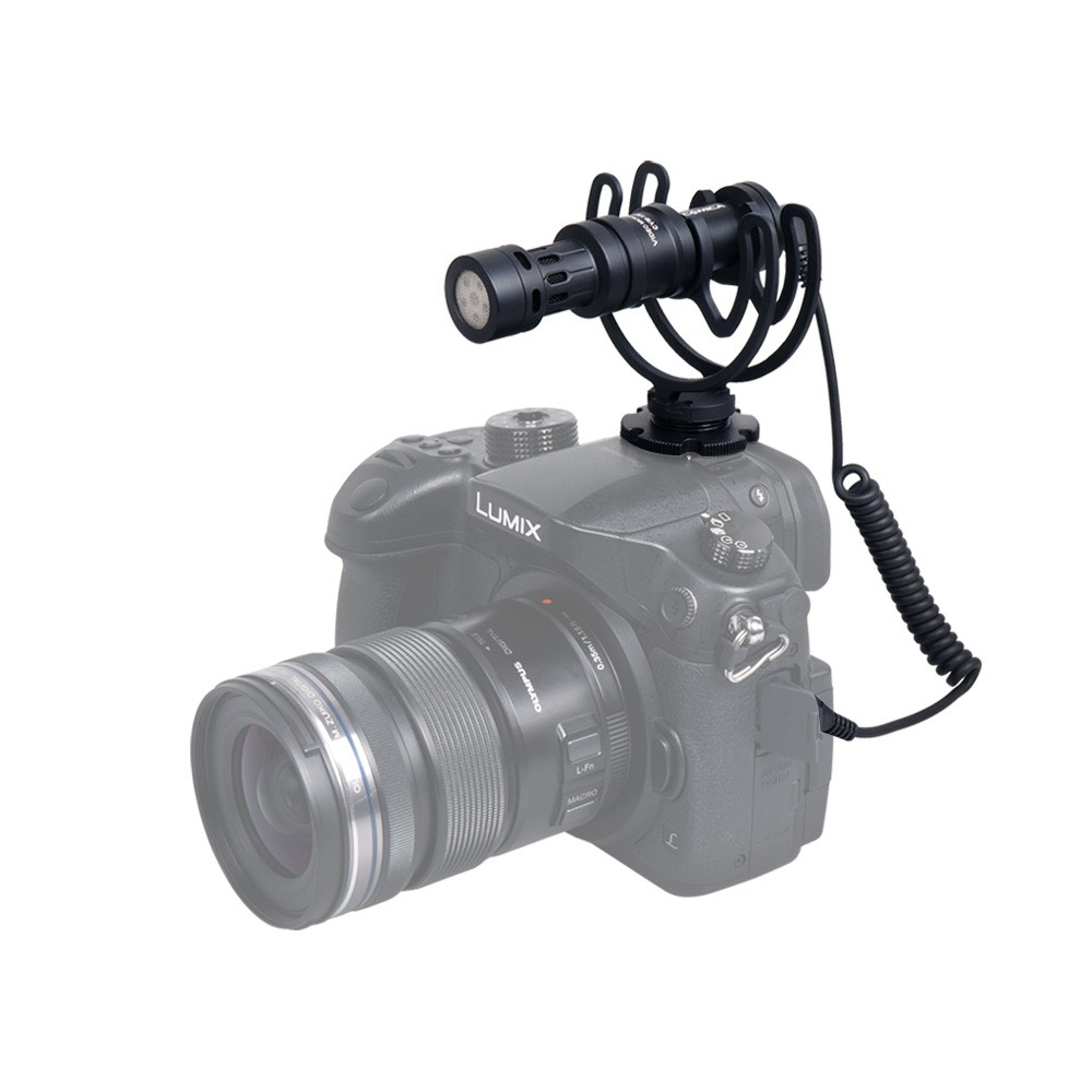 Metal Video Compact On Camera Recording Microphone as Rode for Phone ...