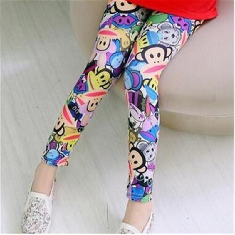 New Style Spring Autumn Children Leggings Flower Butterfly girls pants kids legging 13