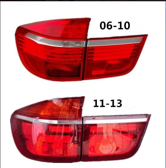 RQXR LED Rear Light + Brake Light + Turn Signal Rear Bumper Light Reflector For BMW X5 E70 3.0i 3.5i 4.5i 4.8ix 5.0ix 2006-2010