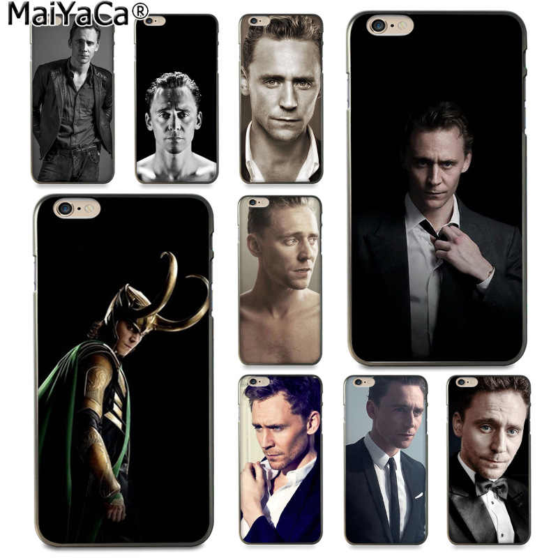 MaiYaCa Tom Hiddleston najnowszy moda luksusowe etui na telefon do Apple iphone 11 pro 8 7 66S Plus X 5S SE XS XR XS MAX pokrywa