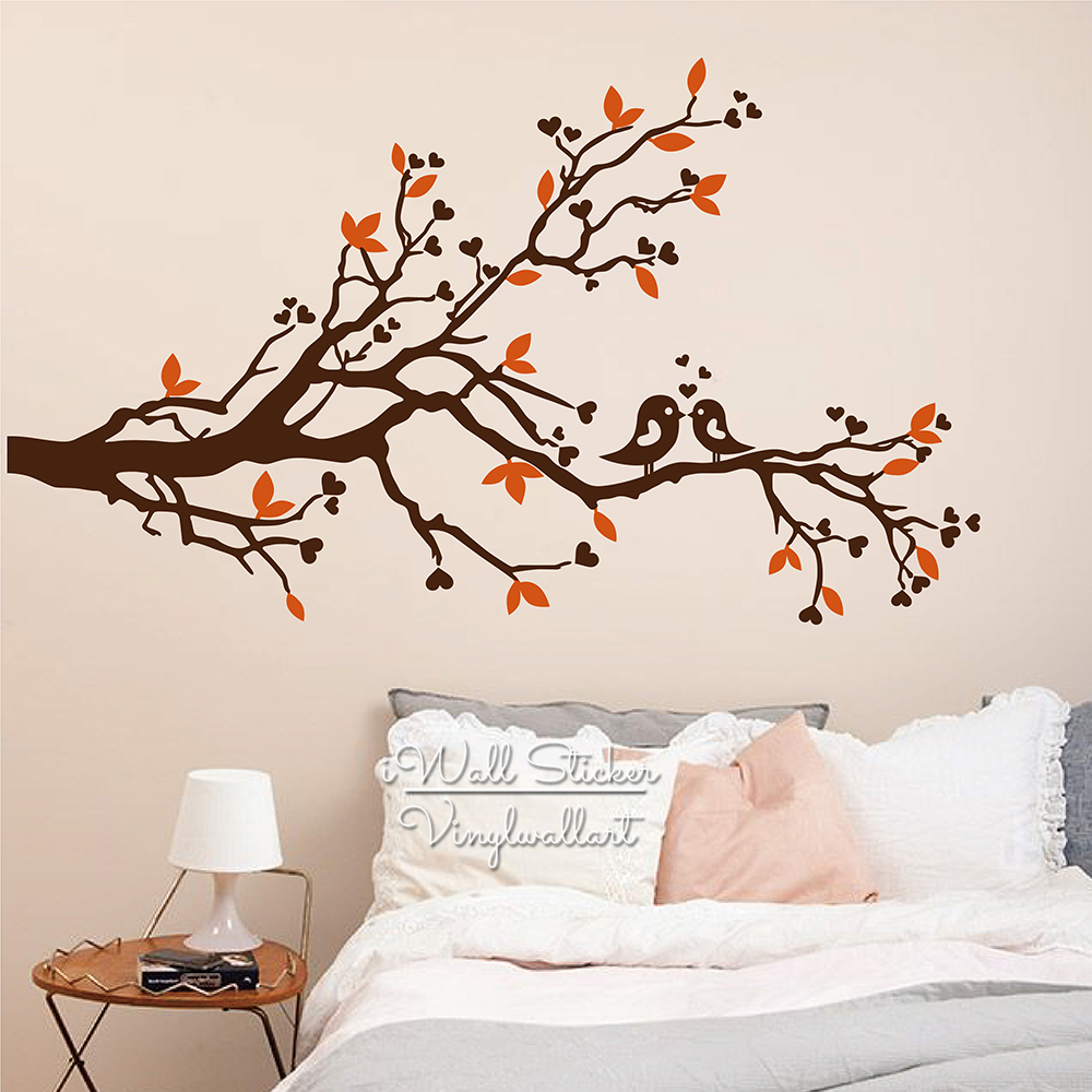 Tree Wall Sticker Baby Nursery Tree Birds Wall Decal Diy