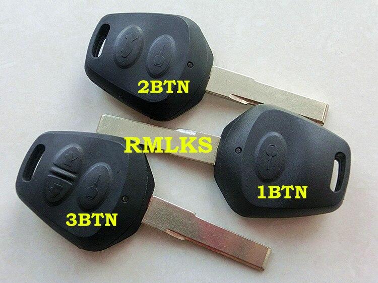 RMLKS Shell De Remplacement 1 2 3 Bouton Cas Principal À Distance Fob Blanc HU66 Lame Fit Pour Porsche 911 Carrera Boxster Cayenne
