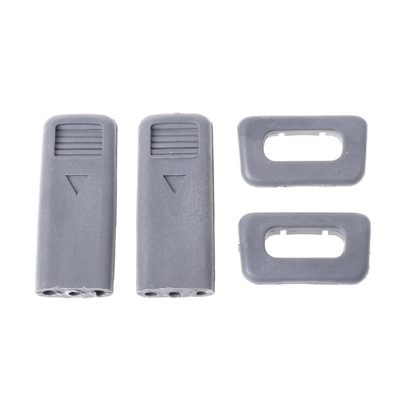 Car Lock Pin Cap Set W/ Base For Mitsubishi Pajero Montero V31 V32 V33 V43 99-00