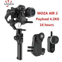 MOZA Air 2 3 Axis Gimbal Stabilizer DSLR Camera Handheld Follow Focus Wheel 4.2KG for Sony Canon Nikon Camera VS DJI Ronin S