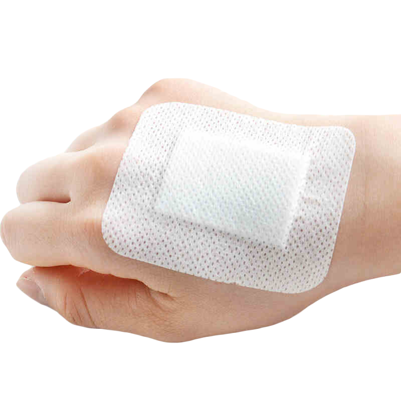 30 Pcs/lot Medical Dressing Tape Large Area Band-aids Breathable Non-woven Medical Supplies For Wound First Aid Hemostasis