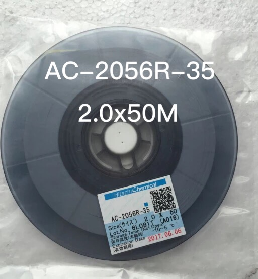 Original ACF AC-2056R-35 PCB Repair TAPE 2MM*50M New Date