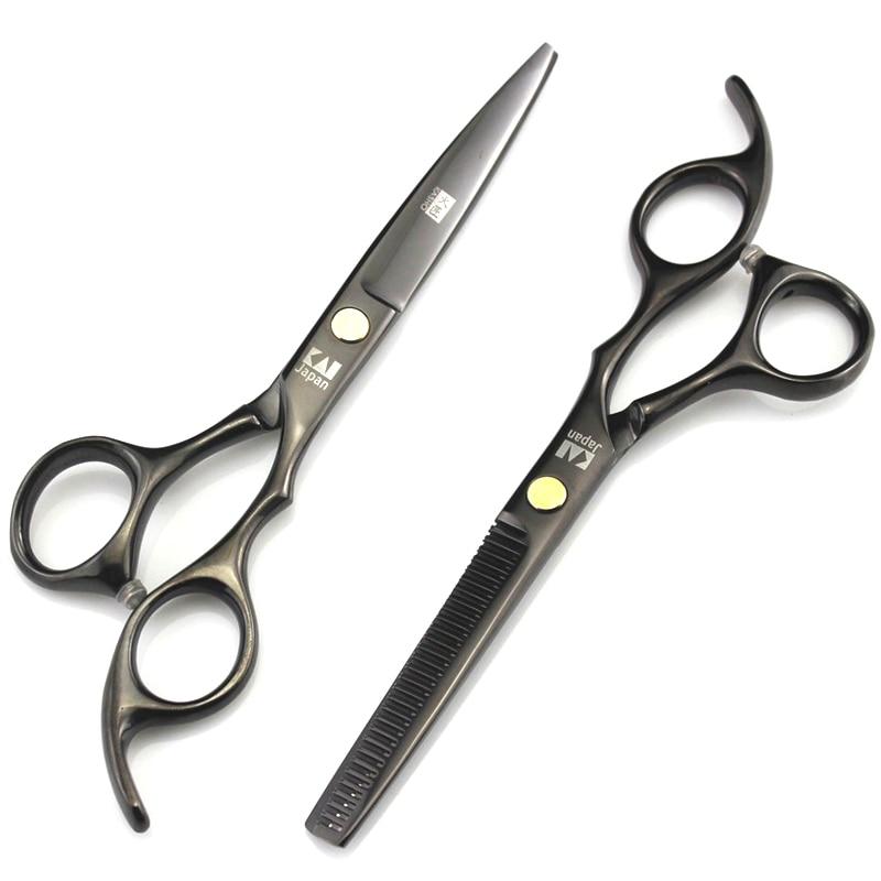 Kasho 6 0 Inch Hairdressing Scissors Hair Professional Salon Product Barber Cutting Shears Set Hairdresser Equipment