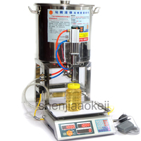 Цифровой Управление вязкой жидкости машины наполнителя коммерческих Нержавеющаясталь мед количественные наполнителя машина мед розлива