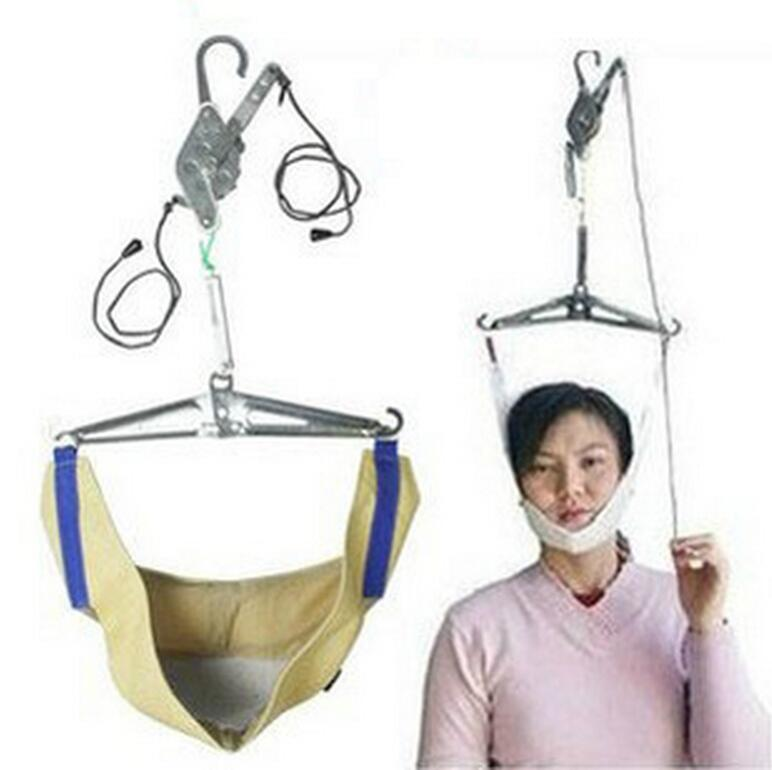 Over Door Neck Relax Cervical Traction Device Kit Neck Back Stretcher Adjustment Chiropractic Back Head Relax relaxation