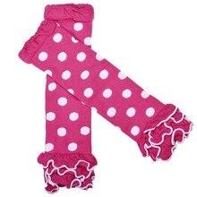 Хэллоуин Гетры для девочек для маленьких девочек Колготки для новорождённых моды горошек Носки для девочек с оборками Детские хлопковые гетры Calzas Mujer леггинсы