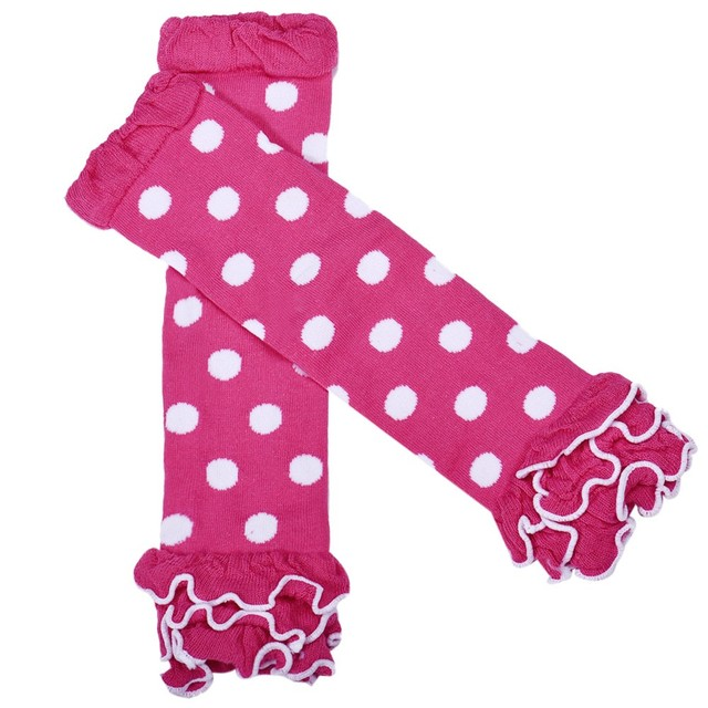 halloween leg warmers for baby girl tights fashion polka dot socks with ruffles infant cotton leg
