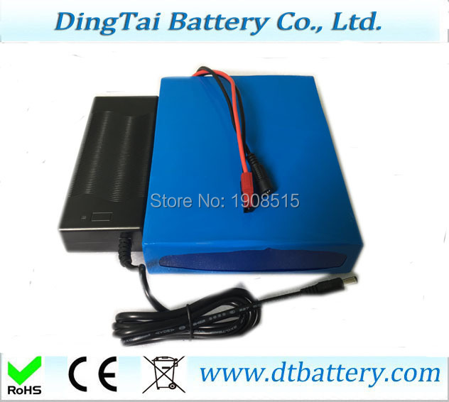 Free shipping OEM 24V 25ah lithium ion battery pack with 20A BMS and charger for electric bicycle, wheel barrow free customs taxes diy 72 volt 2000w lithium battery pack with charger and bms for 72v 15ah li ion battery pack