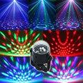 Frete grátis Melhor Promoção Mini LED RGB Cristal Magic Ball Stage efeito de Iluminação Da Lâmpada Festa Disco Club DJ Show de Luz Plug EUA