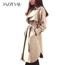 2016 новая весна мода/Вскользь женщин Пальто Шанца длинные Пиджаки свободная одежда для леди хорошим качеством C0246(China (Mainland))
