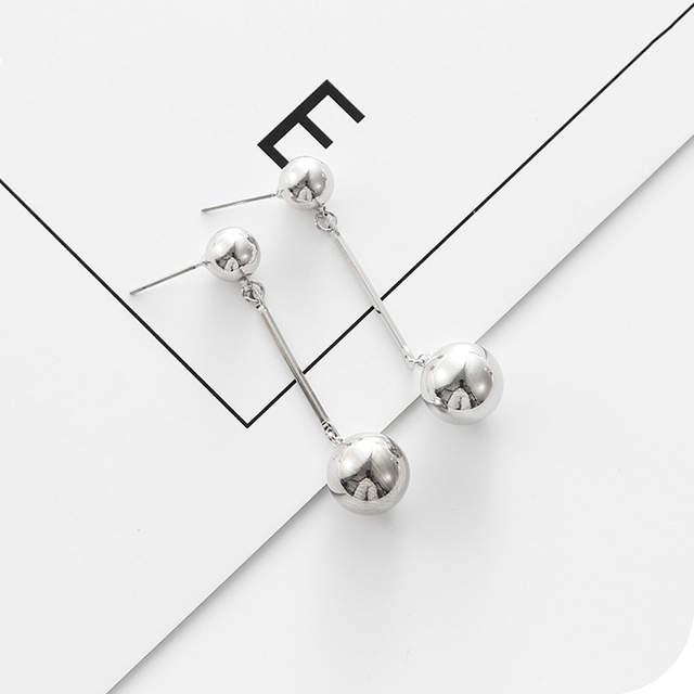 985e0a323bfb Vintage style round ball drop earrings simple designer women dangle  earrings chandelier shape jewelry for women