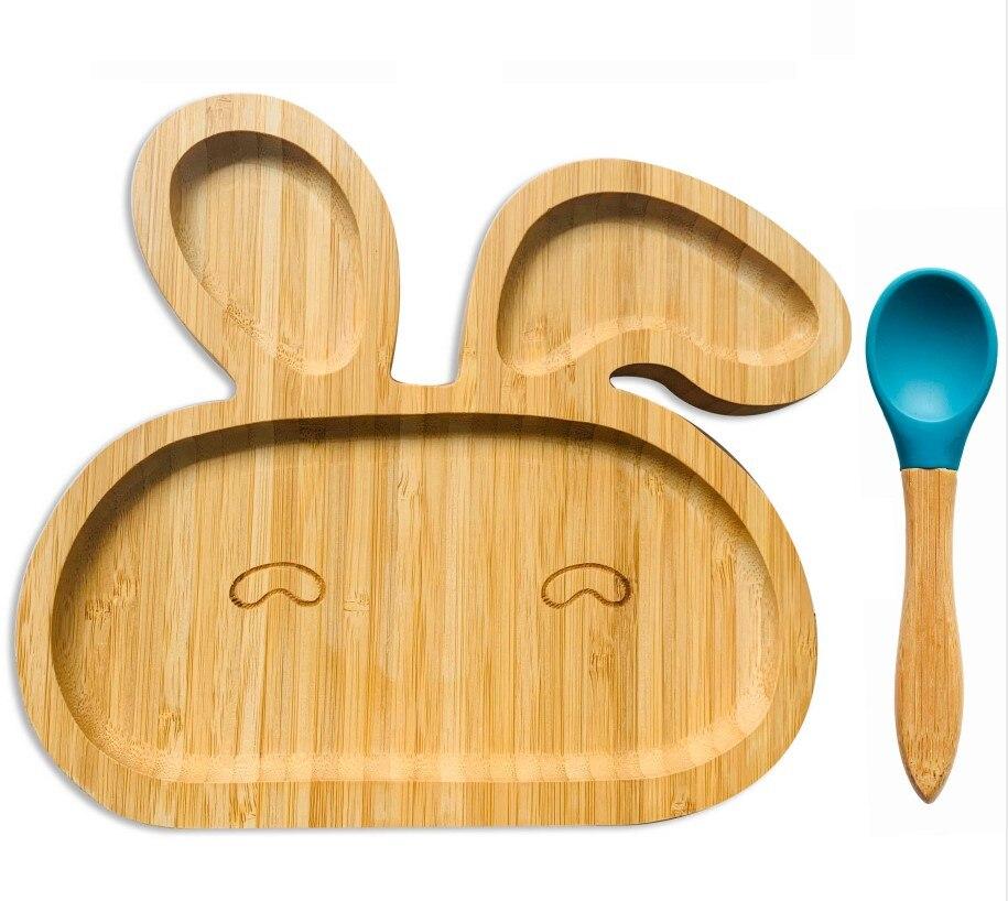 Bun Bun Silicone Bamboo Suction Cup