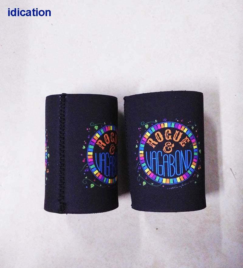 100 Teile/los Benutzerdefinierte Australien Stubby Halter Gute Qualität Neopren Können Kühler Für Bierflasche Eis Kühltasche Isolierte Kühltaschen