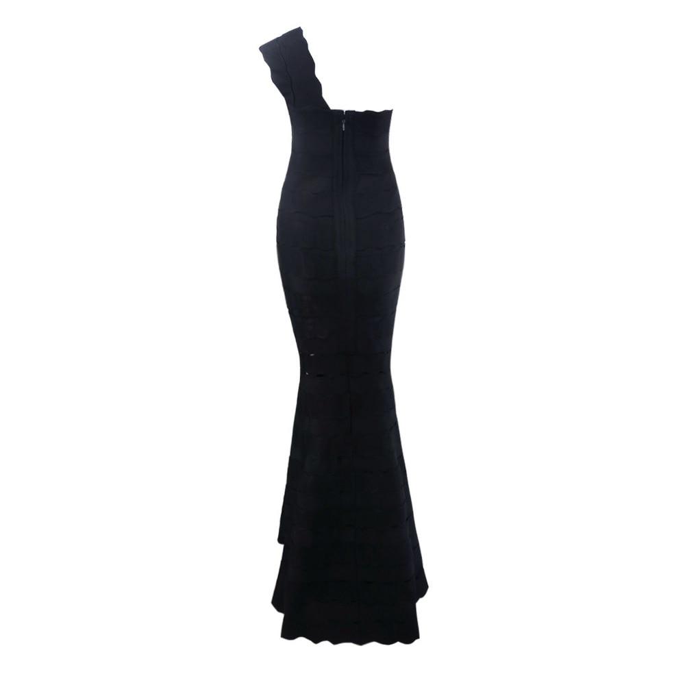 Rayonne D'été 2017 kaki Longueur Celebrity Kaki Femmes Moulante Manches Noir Une Robe Sans Épaule Party Bandage Noir Creux parole Sur EFwFq