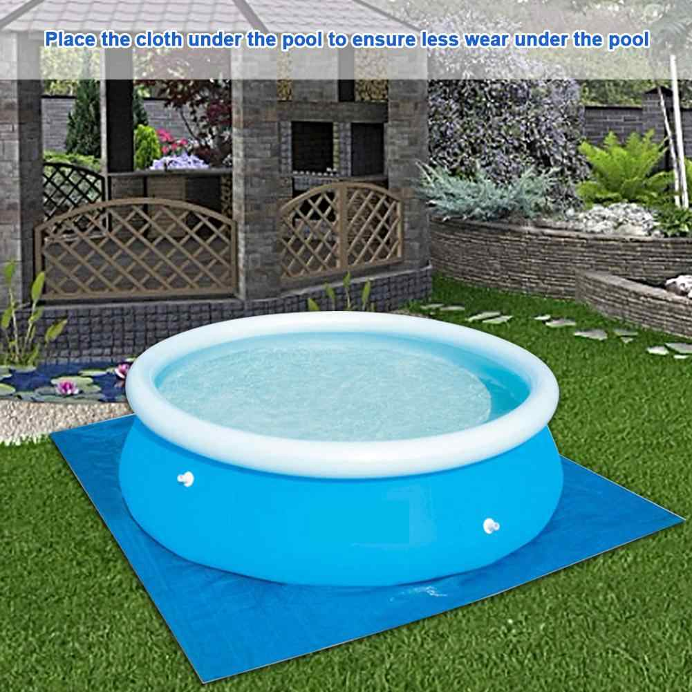 New Folding Pool Cover For Round Above Ground Swimming Pools Inflatable  Ground Cloth Multi-size For A Variety Of Inflatable Pool