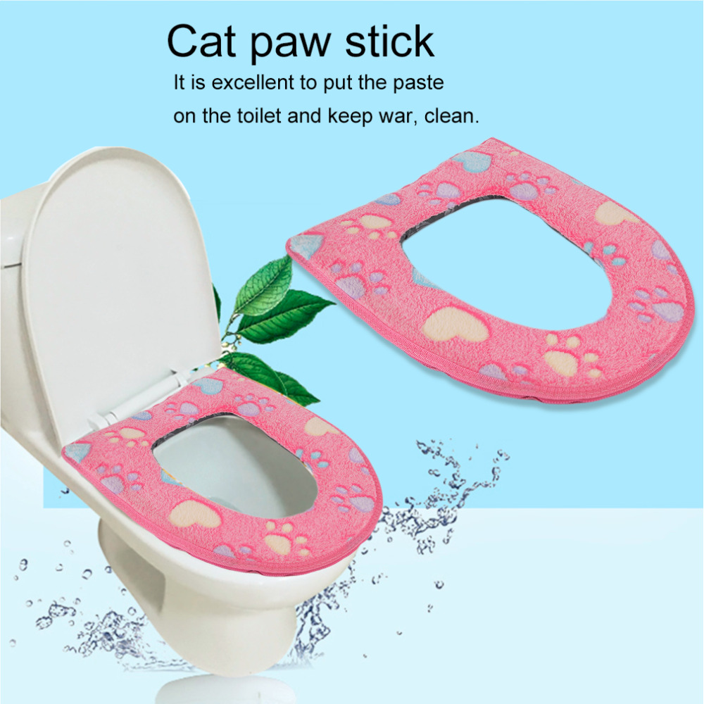 Cat Toilet Seat Cover Soft