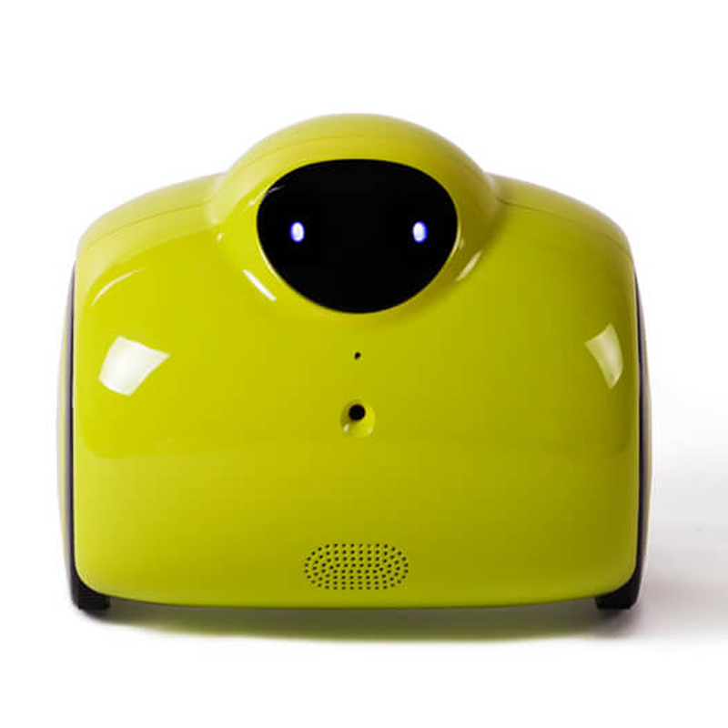 Smart 720 P HD WIFI famille Robot bébé moniteur avec Vision nocturne IR et interphone vocal 2 voies avec tonalité modifiée et charge automatique