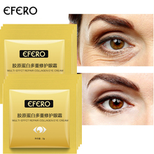 EFERO 10packs Collagen Eye Cream Dark Circles Removal Serum Moisturizer Beauty Face Care