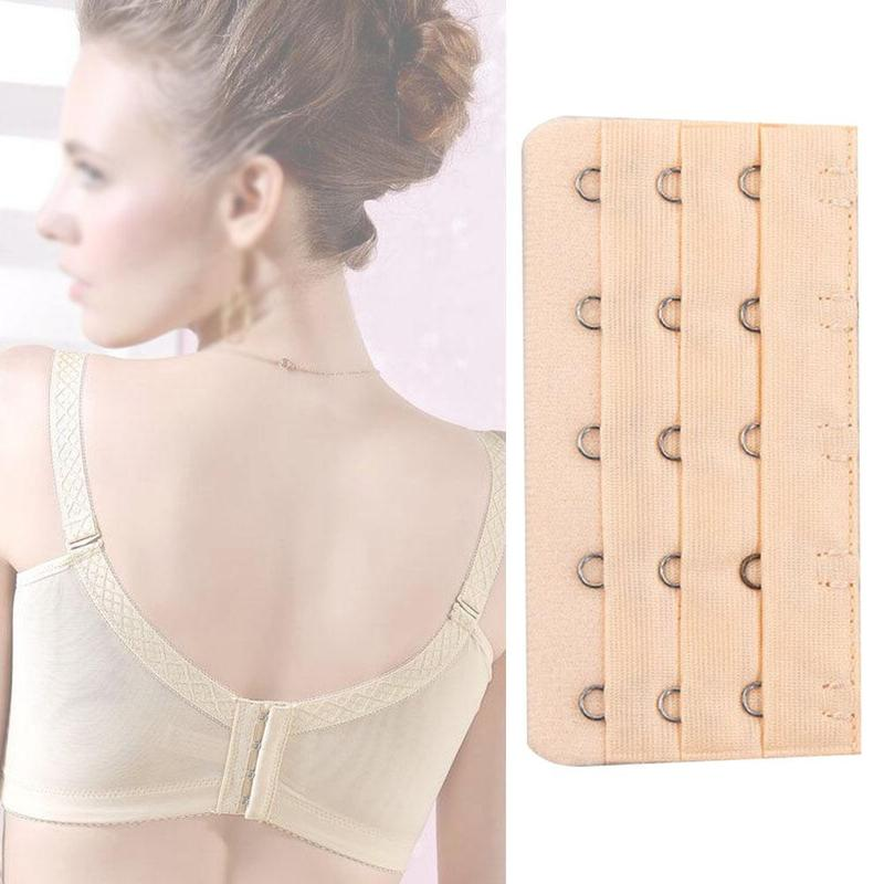 1PC Bra Extenders Strap Buckle Extension 3Rows 5 Hooks Clasp Straps Women Bra Strap Extender Sewing Tool Intimates Accessories