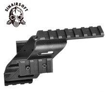 SINAIRSOFT Универсальный Тактический оптический прицел пистолета лазерный видеоискатель свет крепление с Quad 7/8 «Уивер и Пикатинни Глок 17 5,56
