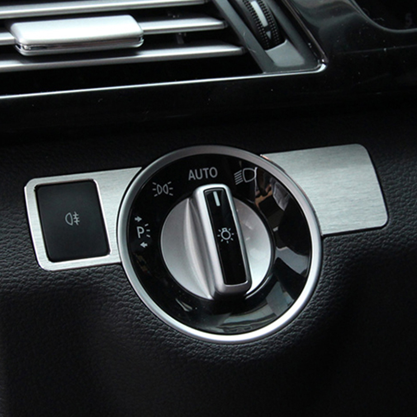 Cardimanson Headlight Adjustment Button Trim Cover Stickers for <font><b>Infiniti</b></font> <font><b>Q30</b></font> QX30 <font><b>Accessories</b></font> Car Styling image