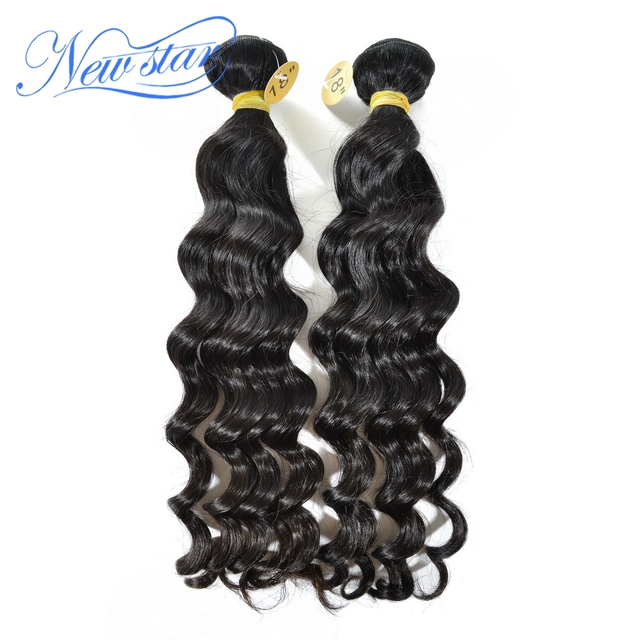 New Star Peruvian Loose Wave Virgin Hair 2pcs/lot 100% Unprocessed Human Hair Loose Weaving With Cuticle Aligned Free Shipping