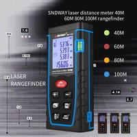 Free Delivery 40m 60m 80m 100m Handheld Laser Range Finder Infrared Measuring Instrument Laser Electronic Ruler Distance Meter