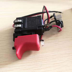 Image 3 - DL2A/2 GSB120 LI anahtarı aracı parçaları 2609125169 elektronik hız ayar anahtarı için bosch 3601JF3081 elektrikli matkap tornavida