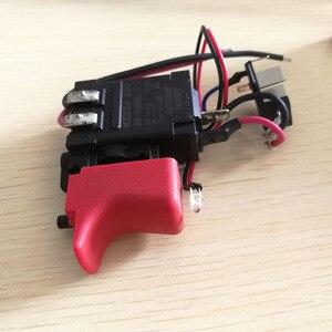 Image 3 - DL2A/2 GSB120 LI pièces de loutil de commutation 2609125169 commutateur de régulation de vitesse électronique pour bosch 3601JF3081 perceuse électrique tournevis