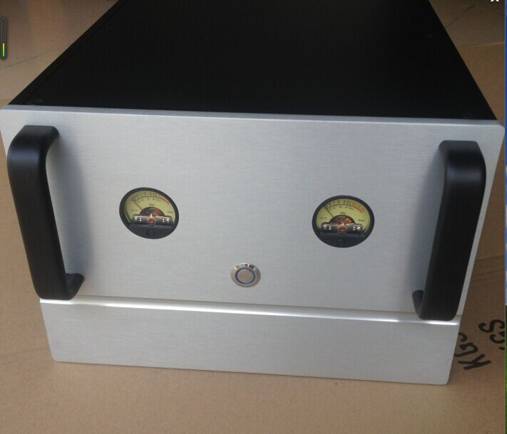 D-085 VU Version of All Aluminum DIY Power Amplifier Chassis Case 250mm*180mm*311mm 250*180*311mm vu table driven plate replacement level bile machine chassis before ta7318p amplifiers