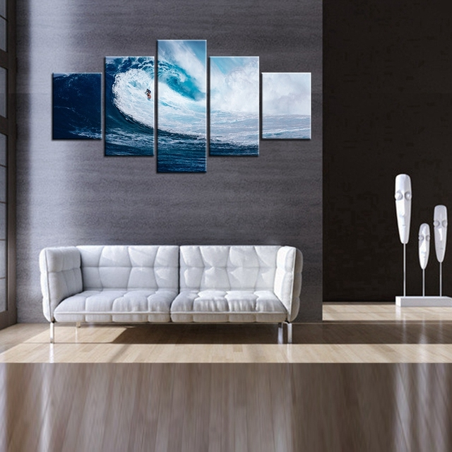 Spannende Surfen Sport Poster Meerblick ölgemälde Auf Leinwand Besten  Geschenke Für Fans Hause U0026 Wohnzimmer