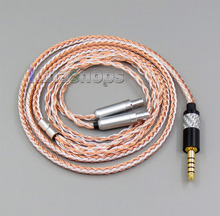 4.4mm Balanced 16 Cores OCC Silver Mixed Headphone Cable For Senheiser HD800 HD800s LN005841 цена и фото
