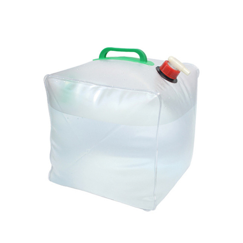 Portable water storage container Collapsible Water Carrier Bag Emergency Water Bag for Camping survival #2y15 (9)