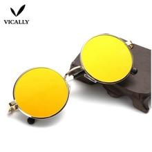 Retro Round Sunglasses Fashion Brand Designer Vintage Men Sun Glasses Women Glasses UV400 Driving Eyewear Oculos De Sol Female