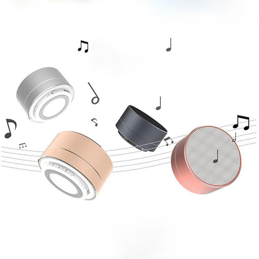 Caixa де сом Беспроводной Bluetooth Металла Стерео Мини-Динамик спикер bluetooth С громкой MIC/FM радио функции/синий СВЕТОДИОД