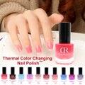 Cambio de Color de Uñas profesional Térmica 12 Ml Arte Partido Cosmética Peel Off Gel Esmalte de Uñas de Colores de Moda #94409