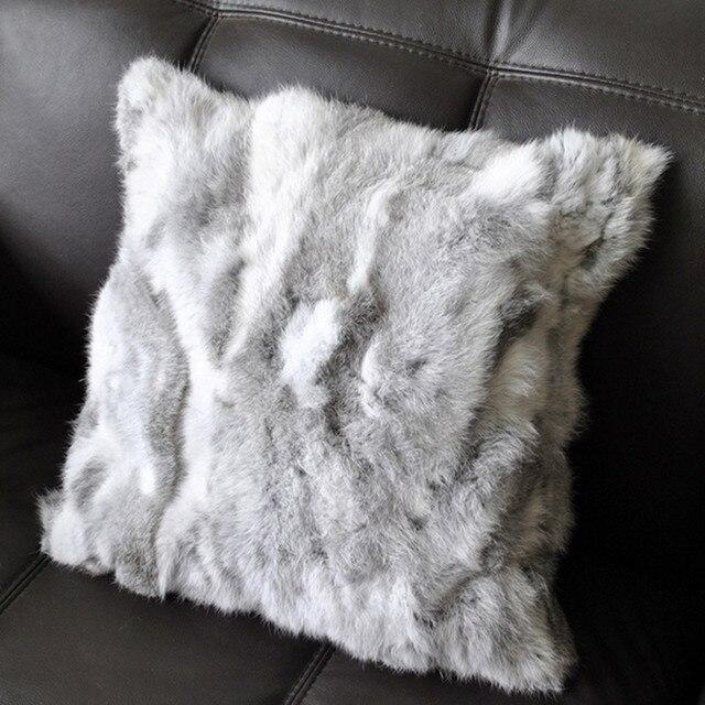Suave sofá cojines cubierta de la alta calidad cómoda conejo de