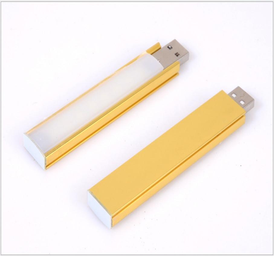 1PC Super Bright 5252 2.5W Portable USB Touchable LED Lamp MINI USB Nightlight for PC Desktop Laptop lamp Free shipping