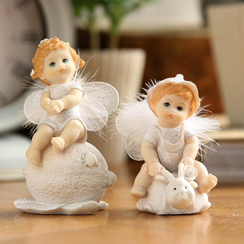 Cute Baby Angel Figurine (23)