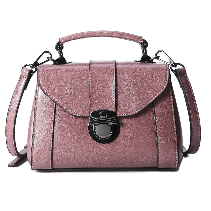 New south Korean style in 2017 The brand real Genuine leather bag of the style of the bill of lading shoulder to shoulder bag qiaobao 2018 new korean version of the first layer of women s leather packet messenger bag female shoulder diagonal cross bag