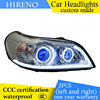 Hireno Custom Modified Headlamp For Chevrolet Epica 2007 13 Headlight Assembly Car Styling Angel Lens Beam
